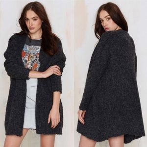 Nasty Gal Just Female Jussi Knit Cardigan